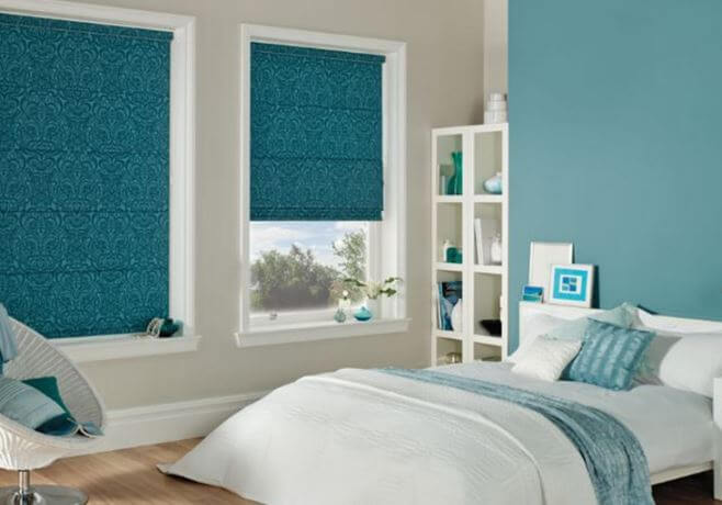 Blinds Roman Vs Roller Fascinating Roman Blinds Bedroom Collection