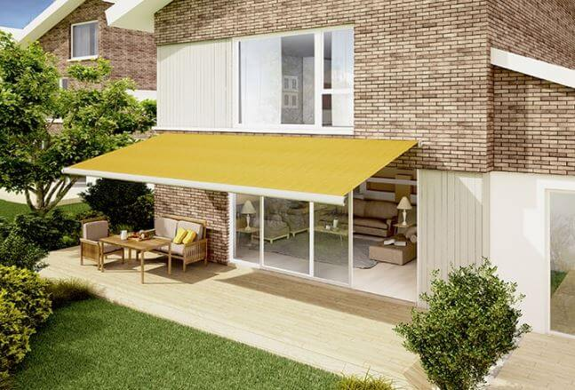 What is the difference between an awning and a canopy?