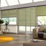 senses mirage green blinds